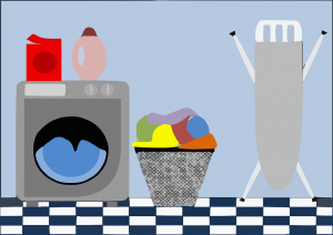 få en snygg tvättstuga