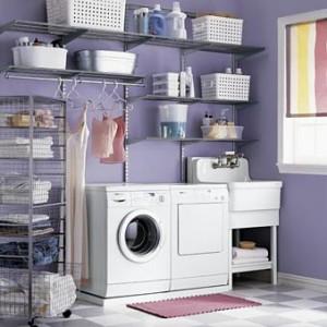 Fixa en snygg tvättstuga, foto: Elfa